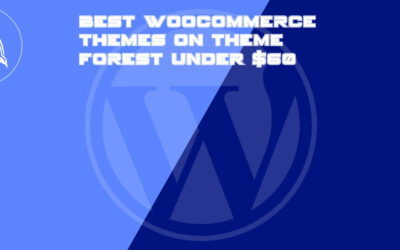 Best WooCommerce themes on Theme Forest under $60