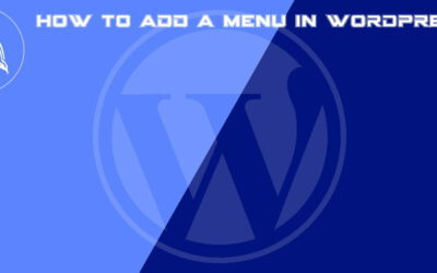 How to add a menu in WordPress for beginners