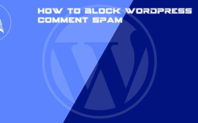 How to block WordPress comment spam without a plugin for free